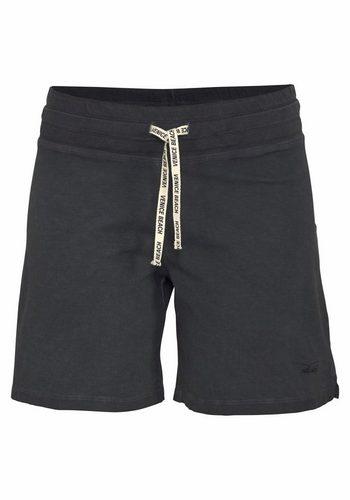 Damen Venice Beach Shorts Levyna im Sporty Look schwarz | 04049254388515