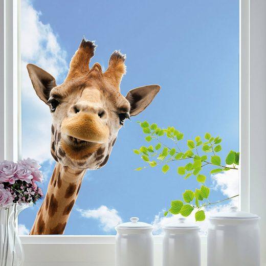 Fenstersticker, Giraffe, 3-tlg.