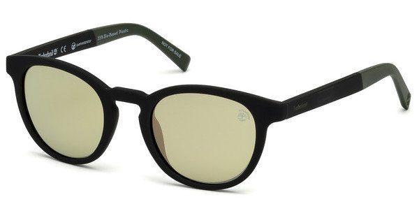Timberland Herren Sonnenbrille » TB9128«, schwarz, 02R - schwarz/grün