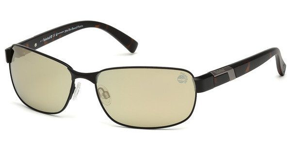 Timberland Herren Sonnenbrille » TB9125«, schwarz, 02R - schwarz/grün