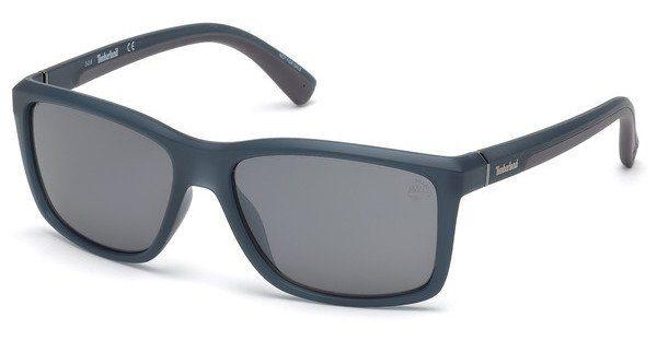 Timberland Herren Sonnenbrille » TB9115«, blau, 91D - blau/grau