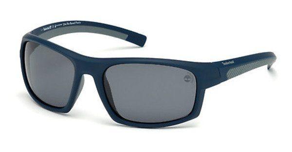 Timberland Herren Sonnenbrille » TB9127«, blau, 91D - blau/grau
