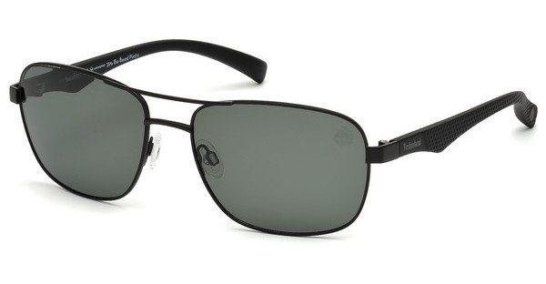 Timberland Herren Sonnenbrille » TB9136«, schwarz, 09H - schwarz/braun
