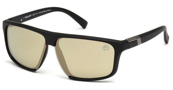 Timberland Herren Sonnenbrille » TB9135«, schwarz, 02R - schwarz/grün