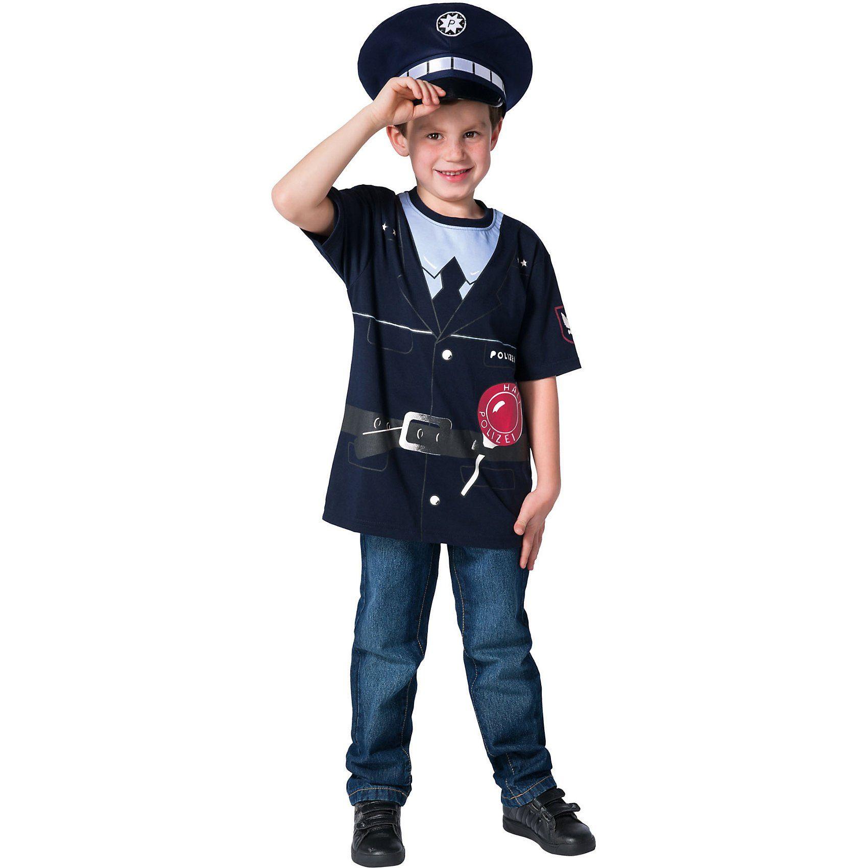 Rubie´s Kostüm Polizeishirt