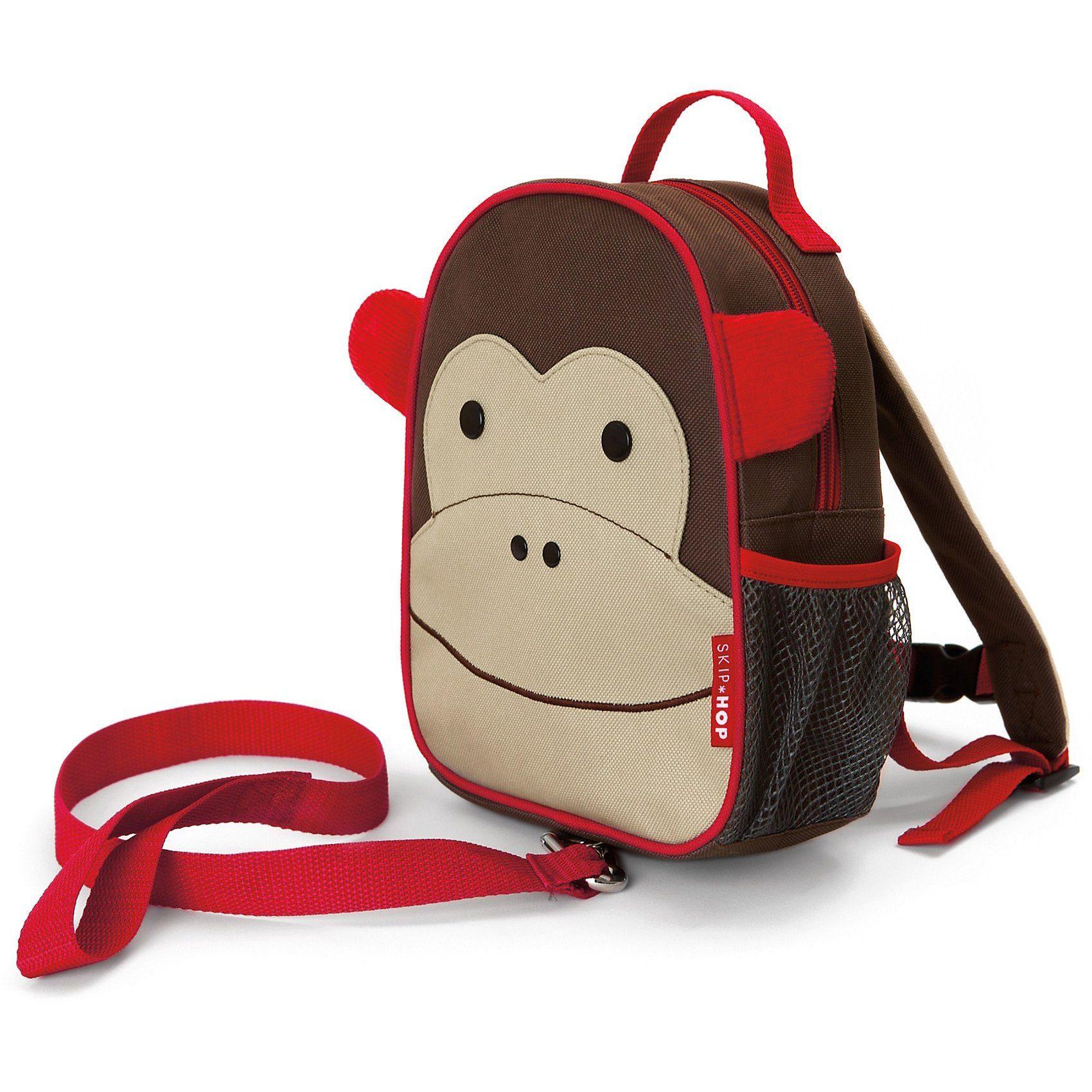 Skip Hop Kindergartenrucksack mit Leine, Affe