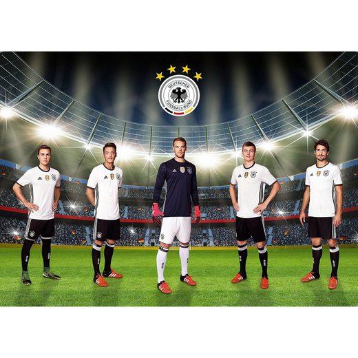Deutscher Fußball-Bund Fototapete Unsere Mannschaft, selbstklebend, 350 x 250 cm