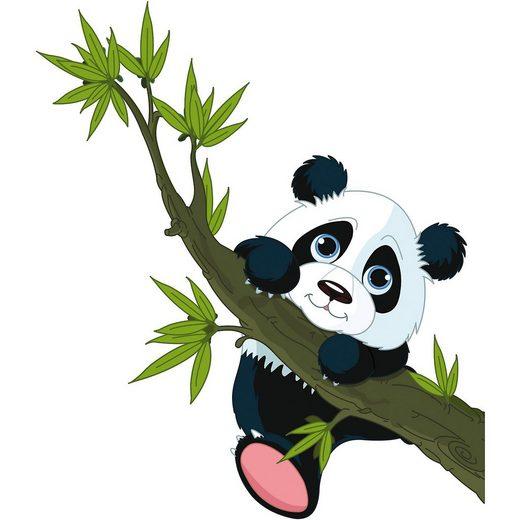 Wandsticker Pandabär, 67 x 47 cm