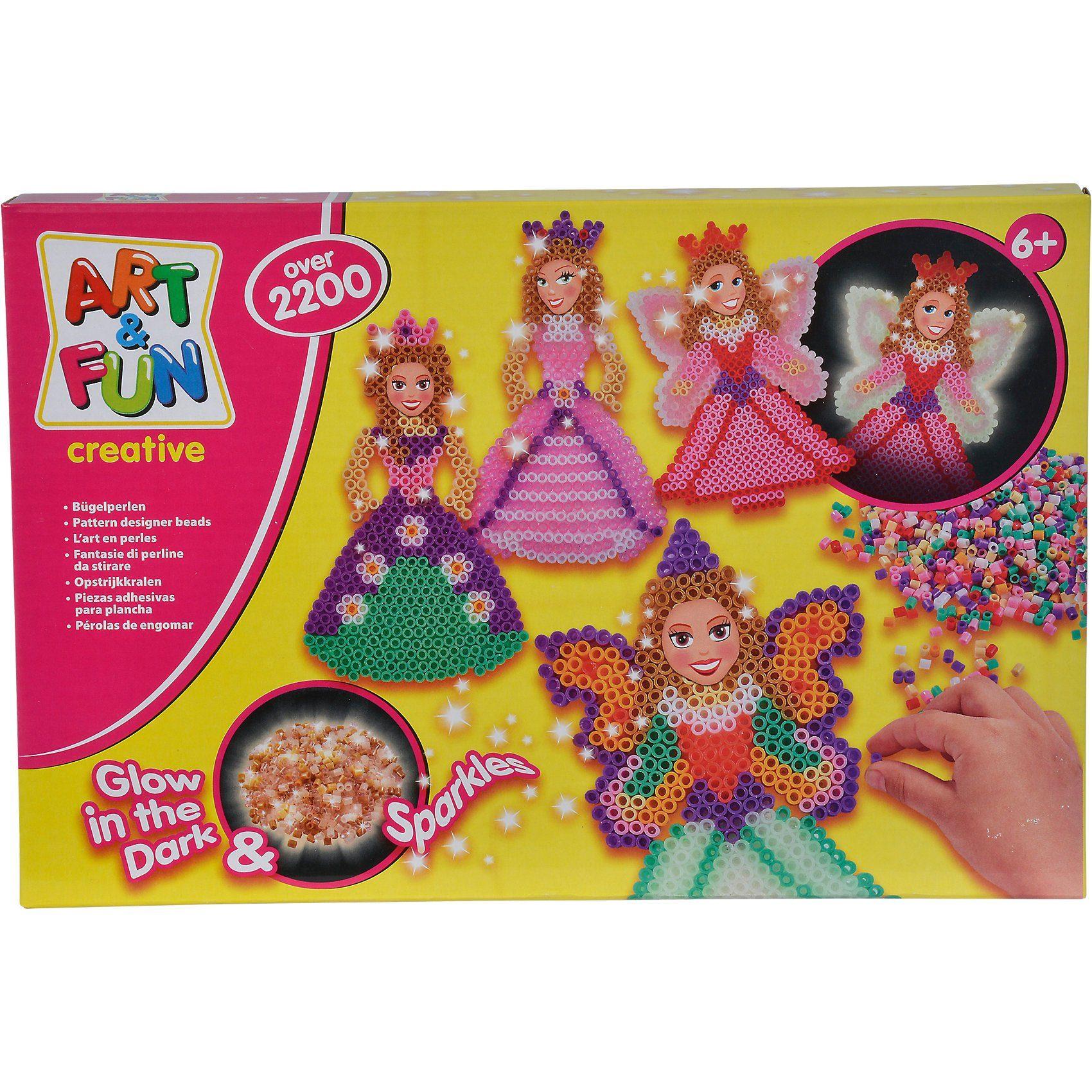 SIMBA Art & Fun Bügelperlen Fee & Prinzessin