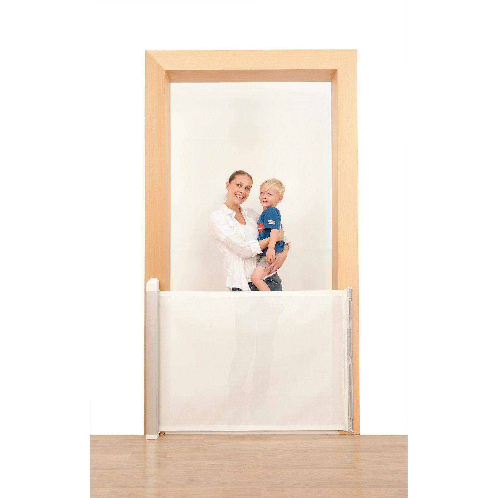 Lascal Tür- und Treppenschutzgitter KiddyGuard avant, weiß