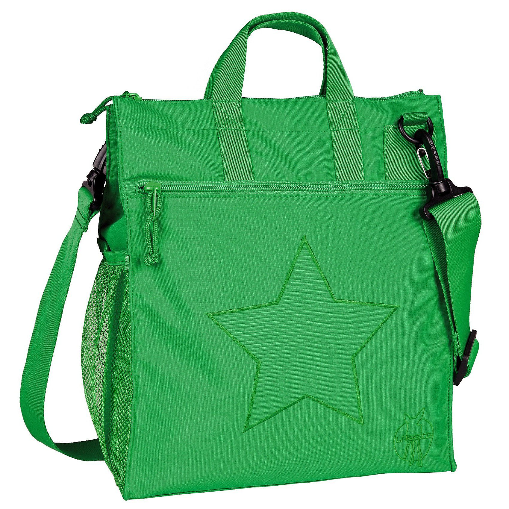 Lässig Wickeltasche Casual, Buggy Bag, Star deep green