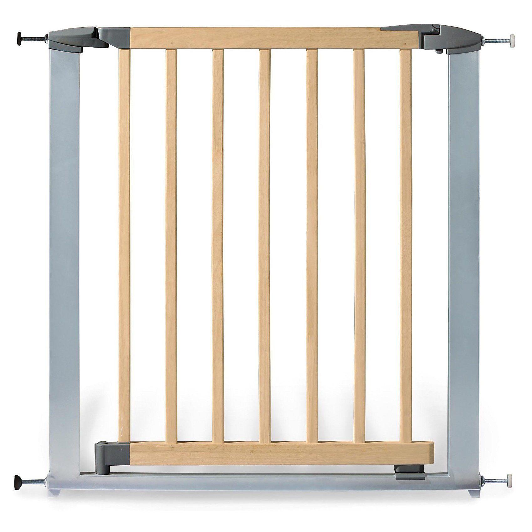 Pinolino Türschutzgitter Holz/Metall Baby Lock Comfort, 73 - 82,5 cm,