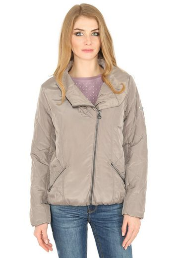 Finn Flare Jacket With Asymmetrical Zipper
