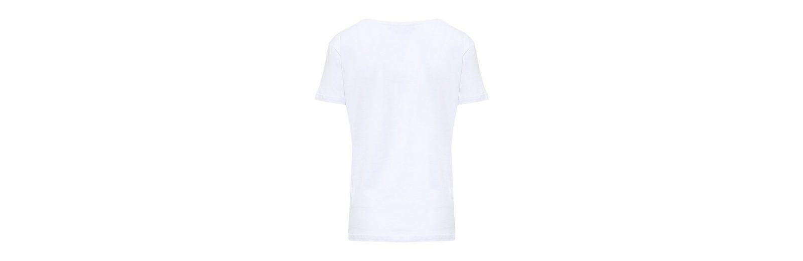 Finn Flare T-Shirt mit Blumendruck Verkauf Truhe Bilder Rabatt Sast Günstiges Shop-Angebot Empfehlen Günstigen Preis Um Zu Verkaufen dI6L8