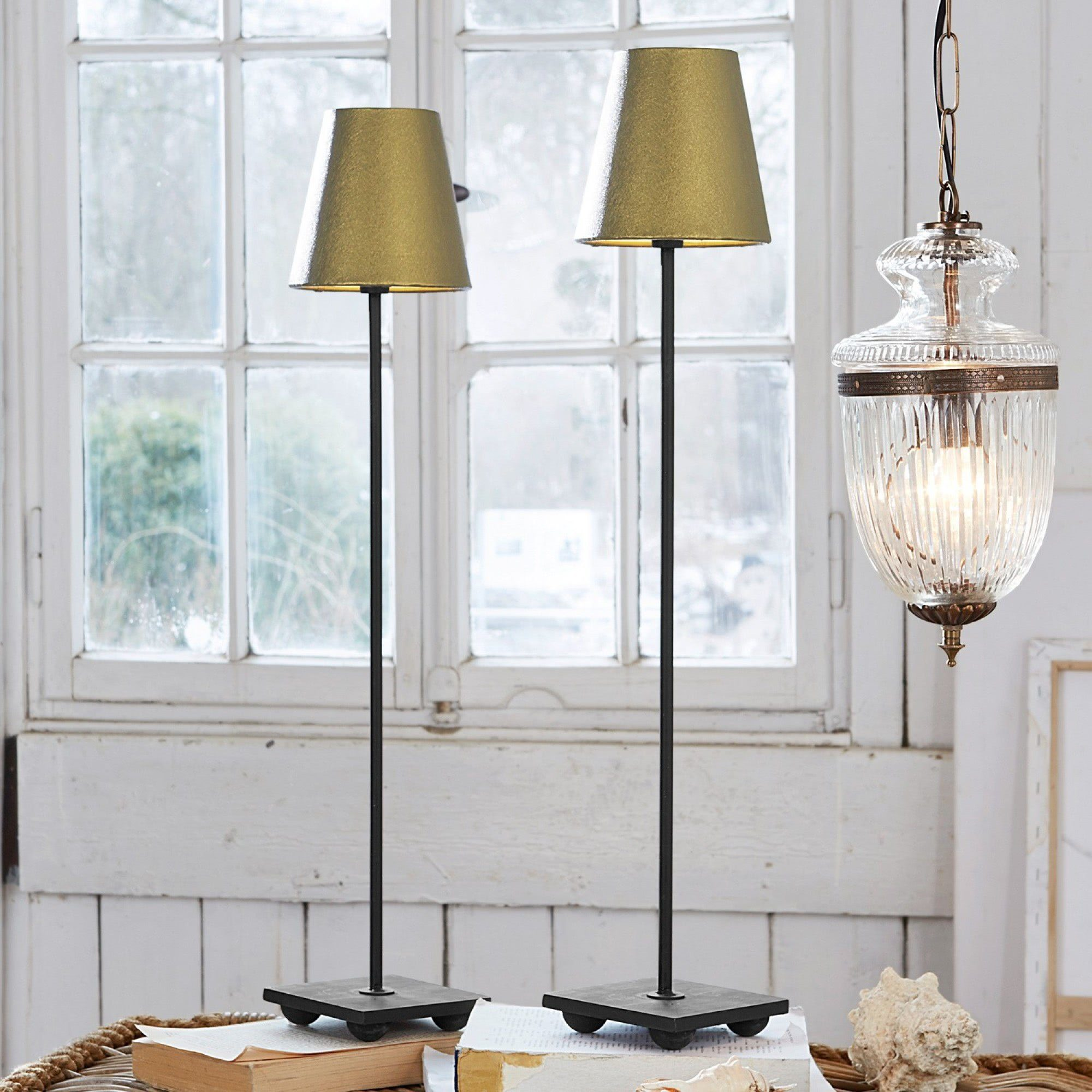 Loberon Tischlampe 2er Packung »Filia«