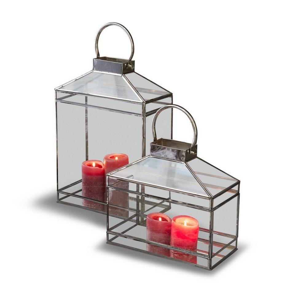loberon laterne 2er set francesca online kaufen otto. Black Bedroom Furniture Sets. Home Design Ideas