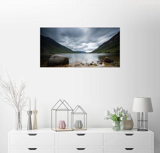 Posterlounge Wandbild - Markus Ulrich »Loch Etive, Schottland«