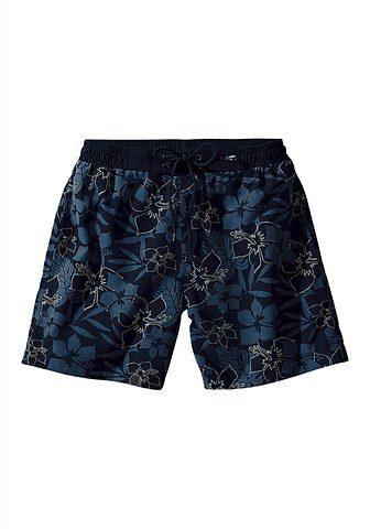 s.Oliver RED LABEL Beachwear Badeshorts im trendigem Alloverprint