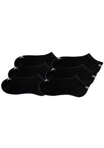 Puma Form Schwarz 6x Sneakersocken6 Klassischer PaarIn nOk08wP
