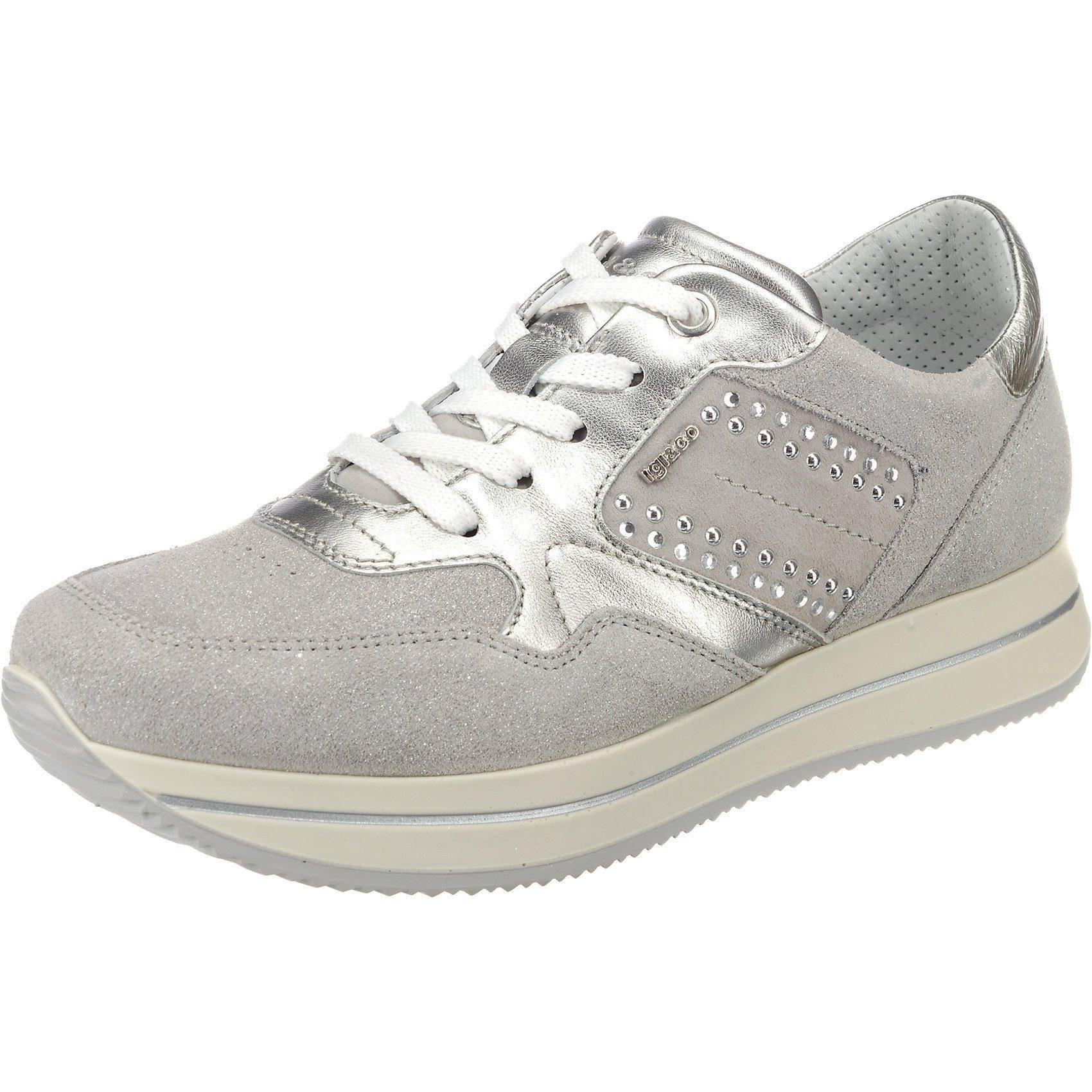 IGI & CO DKU 11542 Sneakers Low online kaufen  silber-kombi