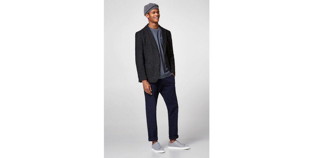 Auslass Niedrig Versandkosten Billig Verkauf 2018 ESPRIT Meliertes Jersey-Shirt aus Baumwoll-Mix Limited Edition Günstig Online m2qe0FGjfG