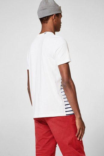 ESPRIT Jersey-Shirt aus 100% Baumwolle