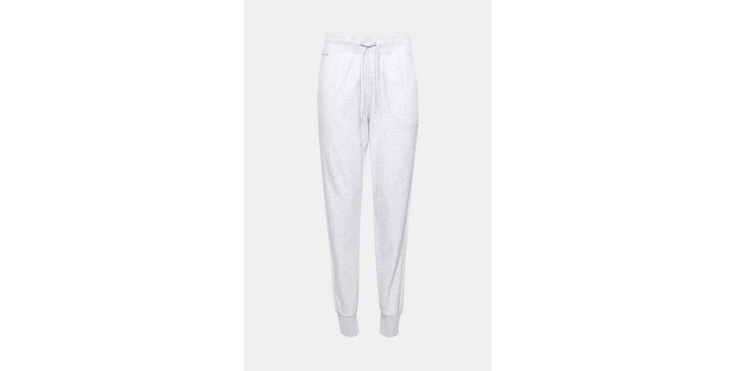 ESPRIT Melierte Jersey-Pants aus Baumwoll-Mix Erscheinungsdaten Die Günstigste Online Zum Verkauf Günstigen Preis Rabatt-Codes Spielraum Store rQBbEsnx