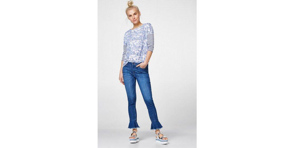 ESPRIT Lässiges Shirt im Muster-Mix Günstig Kaufen Die Besten Preise 8EGxiDuox