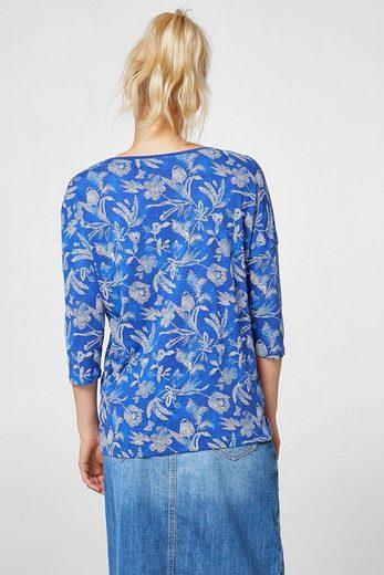 Esprit Slub-shirt Mit-look-print