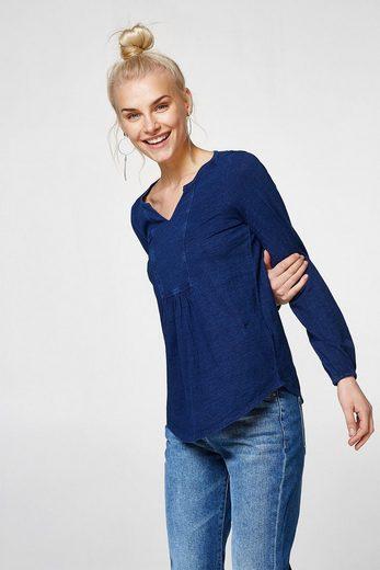 ESPRIT Strukturiertes Shirt im Tunika-Stil