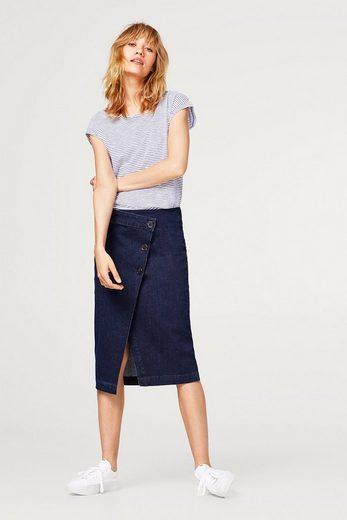 ESPRIT Ringel-Shirt mit Organic Cotton