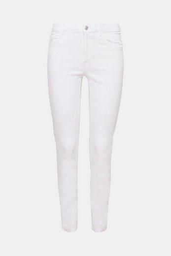 EDC BY ESPRIT Verkürzte Jeans aus Stretch-Denim