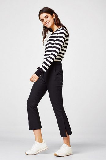 Esprit Collection Fine Trick-sweater With Frilly Sleeves