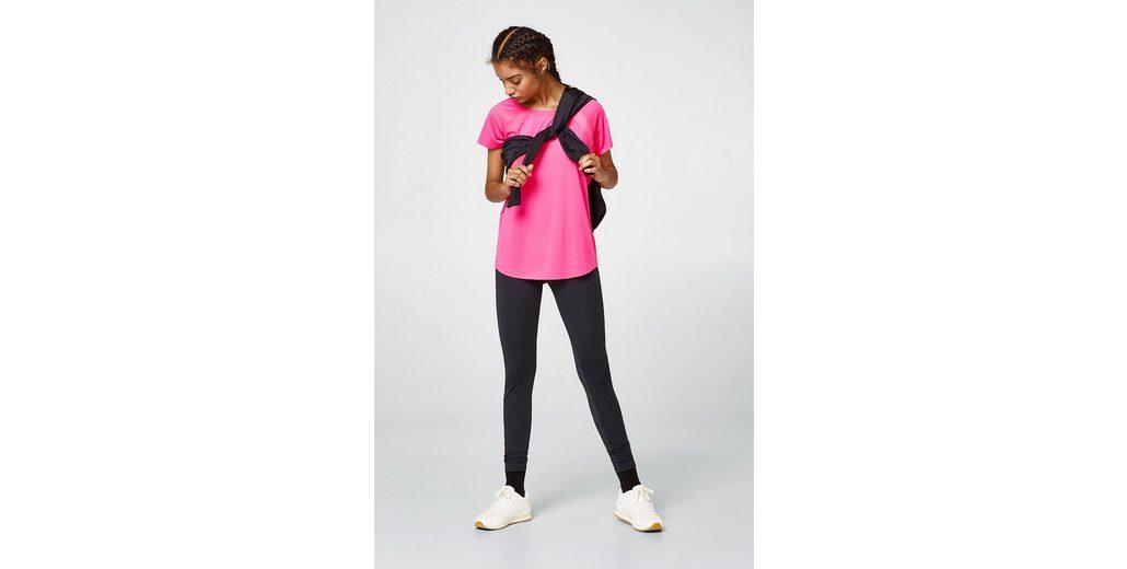 ESPRIT Active-Shirt mit Mesh-Details, E-DRY