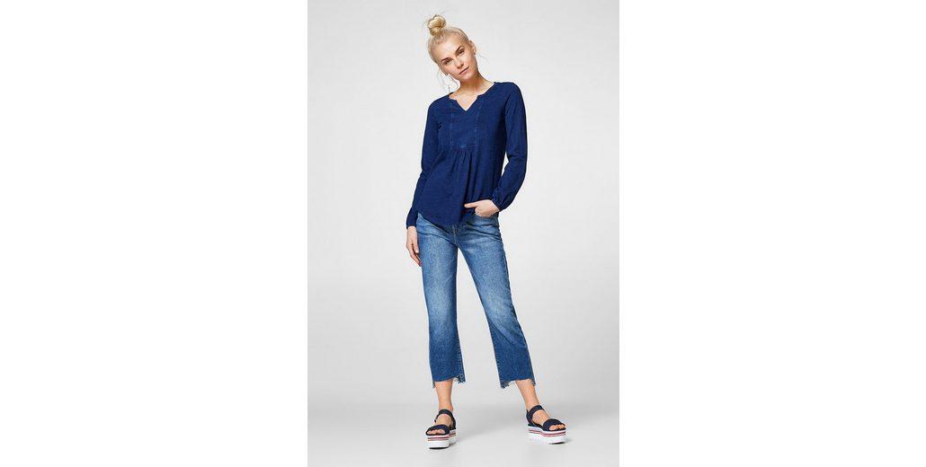 ESPRIT Strukturiertes Shirt im Tunika-Stil Modestil Zum Verkauf Preiswerten Realen zFfGVfYF