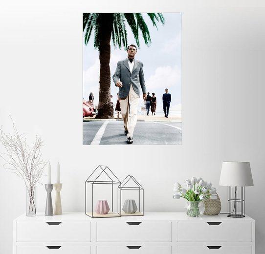 Posterlounge Wandbild »Cary Grant überquert eine Straße«