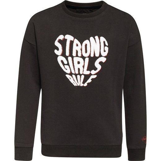 WE Fashion Sweatshirt für Mädchen
