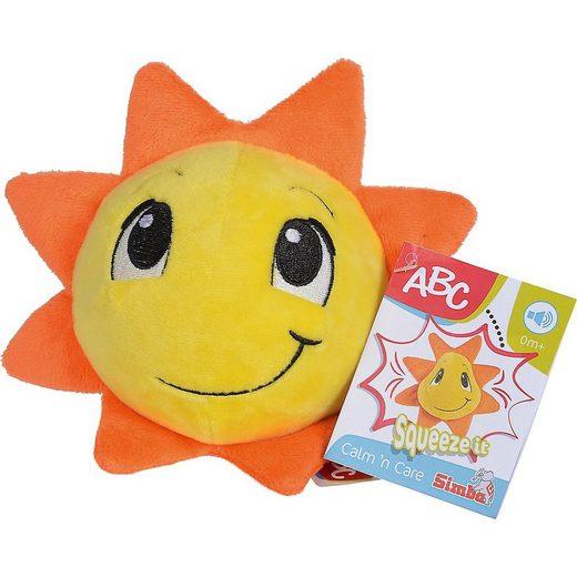 SIMBA Kuscheltier »ABC Plüsch Sonne«
