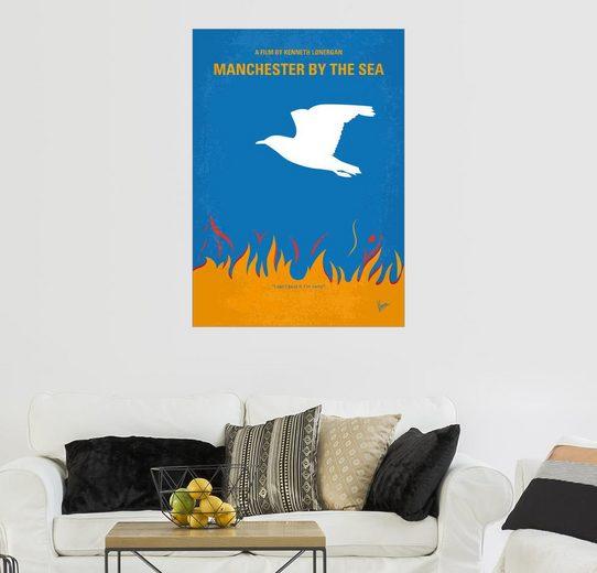 Posterlounge Wandbild - chungkong »No753 My Manchester by the Sea minimal movie ...«