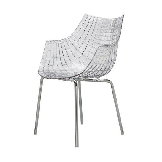 Driade Stuhl »Meridiana mit 4 Beinen«