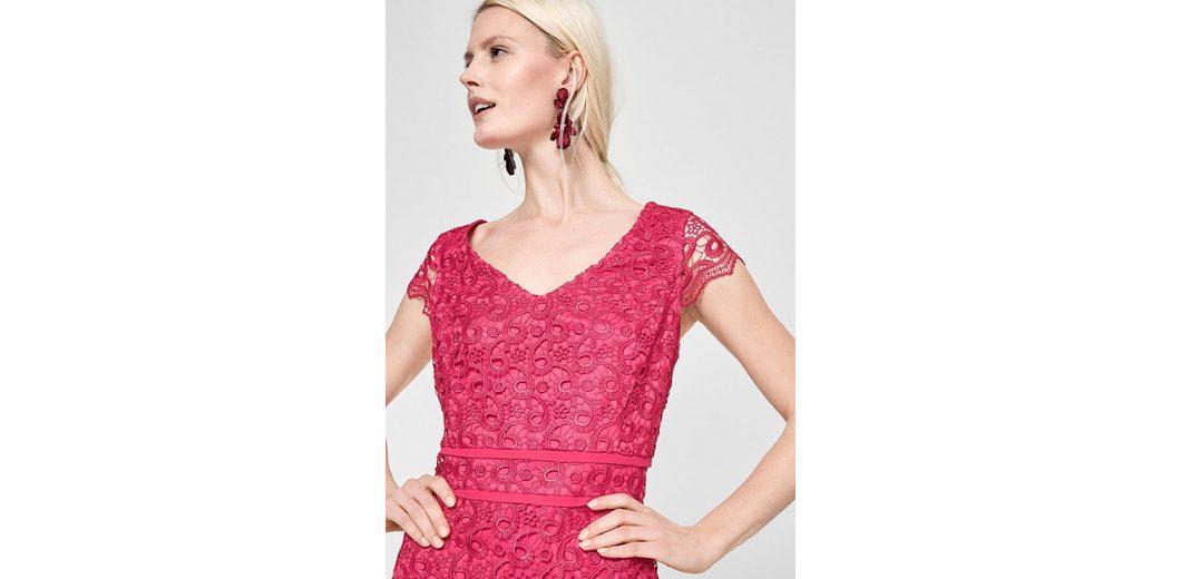 Beliebt Günstiger Preis s.Oliver BLACK LABEL Figurbetontes Kleid aus Spitze Räumungsverkauf Online Ausverkauf Günstig Kaufen Viele Arten Von uRVGacspL