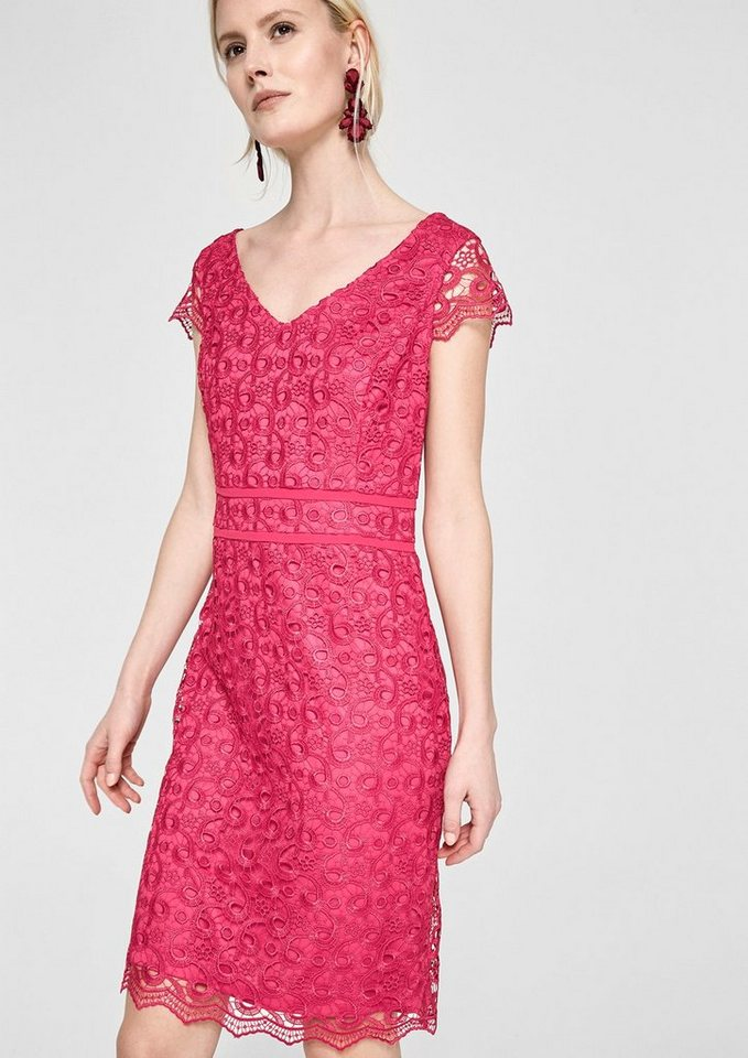 S oliver selection kleid pink