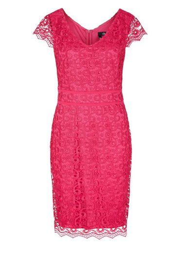 s.Oliver BLACK LABEL Figurbetontes Kleid aus Spitze