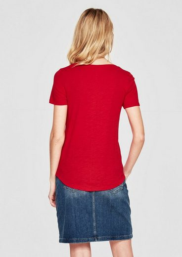 s.Oliver RED LABEL T-Shirt in Slub Yarn