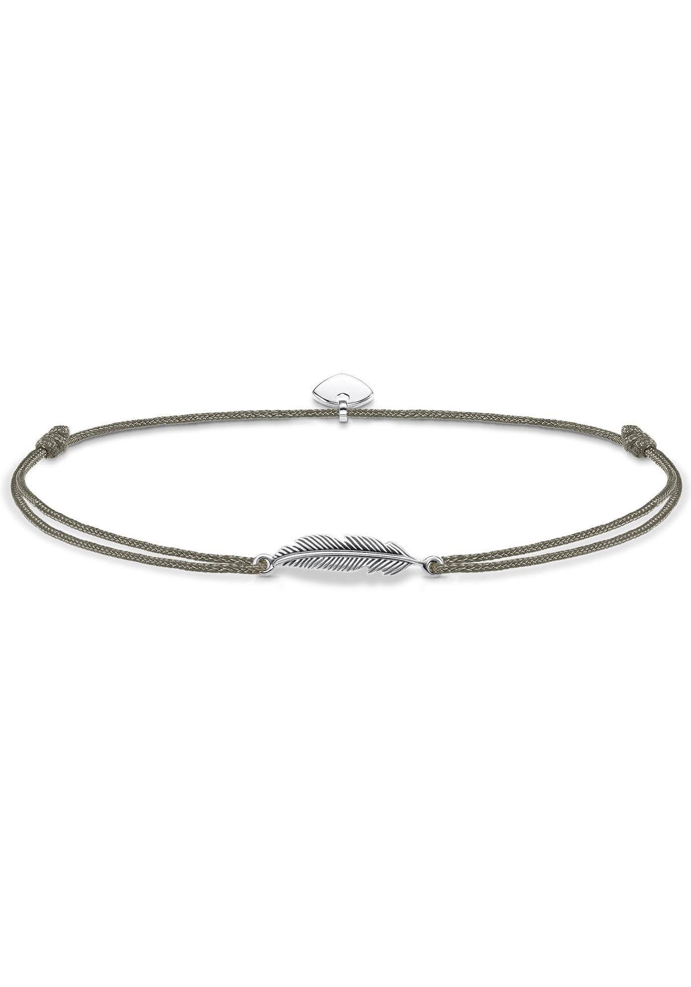 THOMAS SABO Fußkette »Little Secret Feder, LSAK003-907-5-L27v«