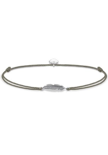 THOMAS SABO Fußkette »Little Secret Feder, LSAK003-907-5-L27v«