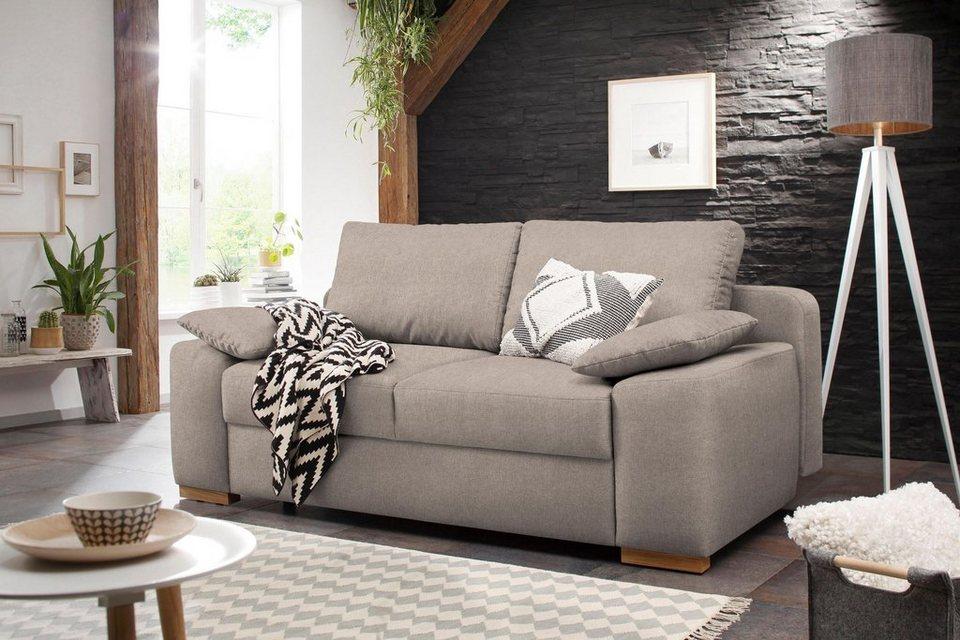 home affaire schlafsofa campine de luxe boxspring polsterung online kaufen otto. Black Bedroom Furniture Sets. Home Design Ideas