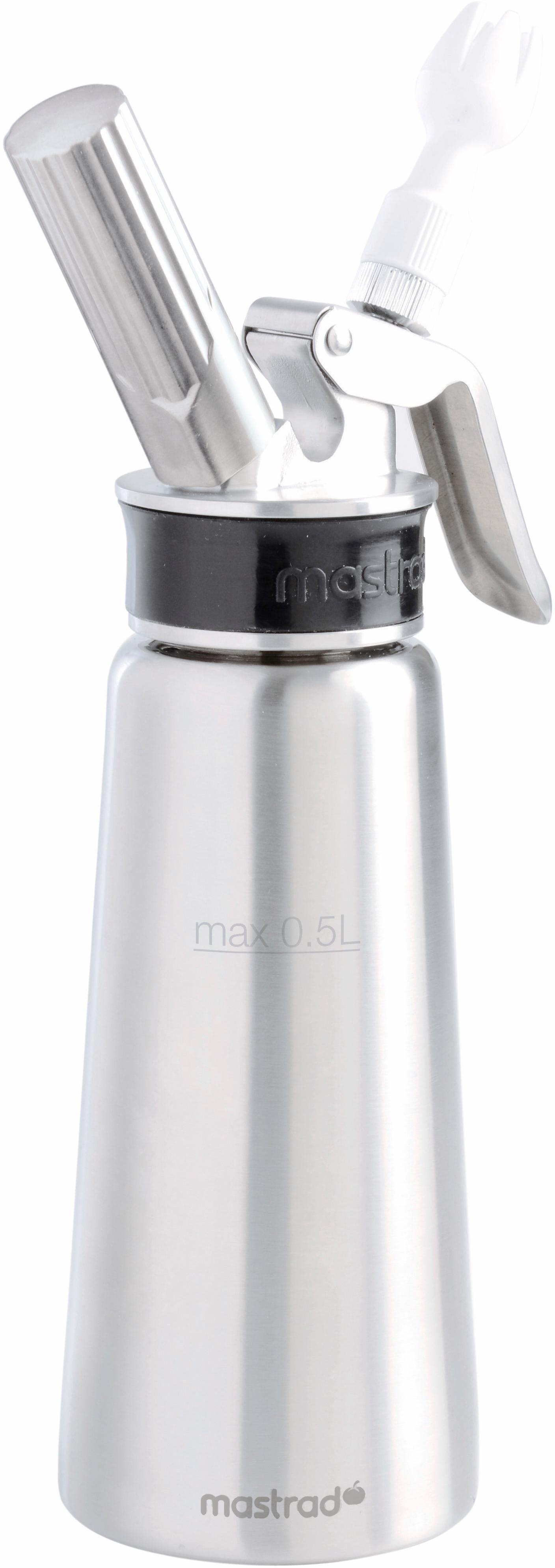 Mastrad Sahnespender, Edelstahl, 0,5 Liter