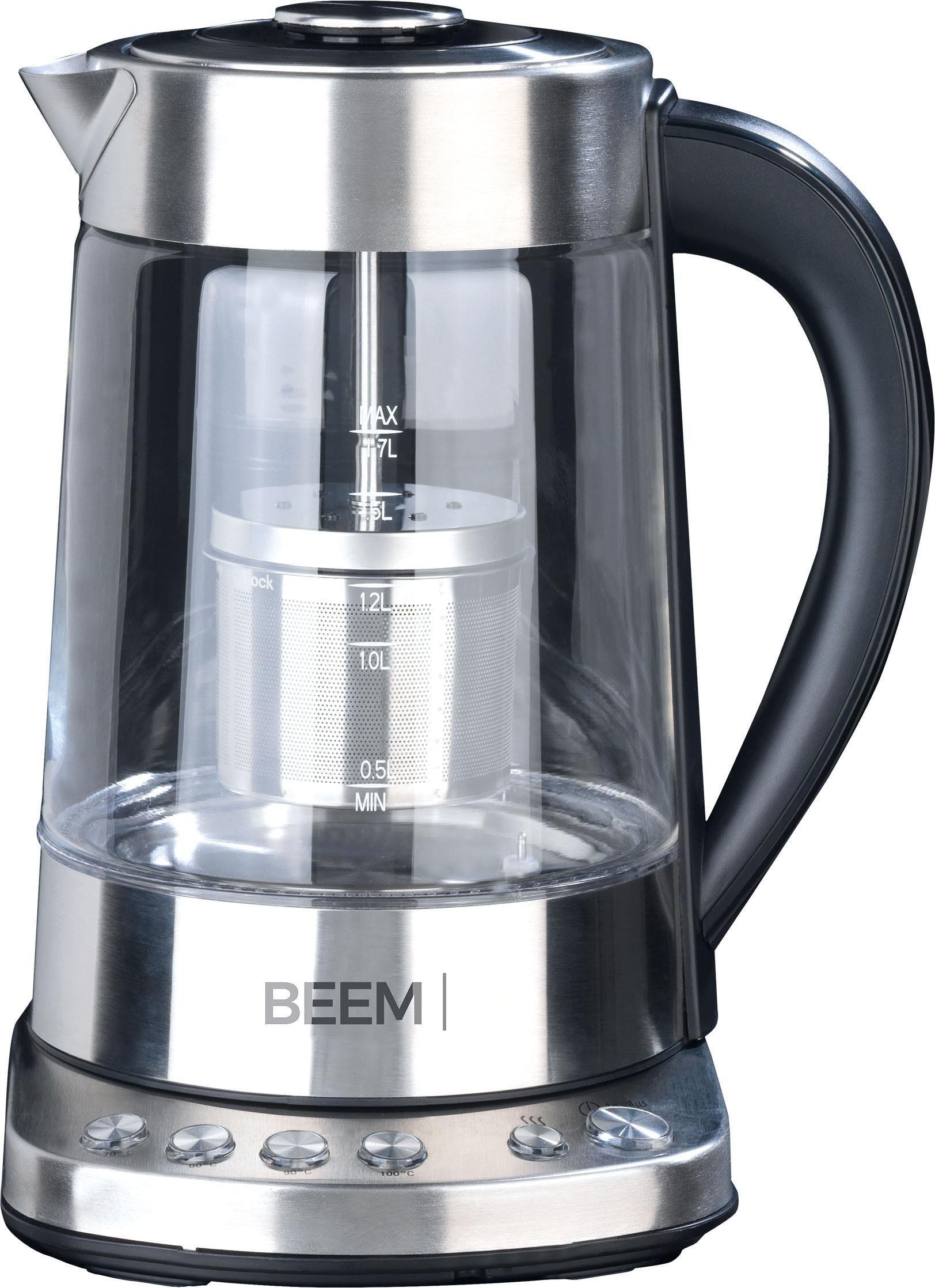 Beem Wasserkocher Teatime, 1,7 Liter, 2000 Watt