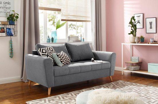 Home affaire 2-Sitzer »Jordsand«, mit feiner Steppung im skandinavischem Design